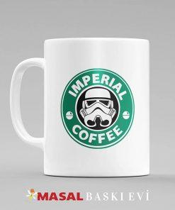 Star Wars Imperial Coffee Logolu Kupa Bardak