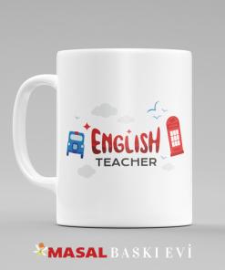 ingilizce öğretmeni kupa bardak